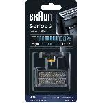 Braun 30B Noire Piece De Rechange compatible avec les rasoirs Series 3