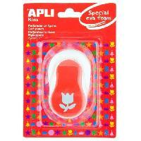 Bricolage - Etabli - Outil APPLI Perforatrice Fantaisie pour Mousse - Tulipe