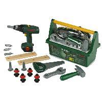 Bricolage - Etabli - Outil BOSCH - Caisse a outils Tool-Box pour Enfant