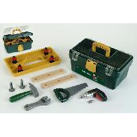 Bricolage - Etabli - Outil BOSCH - Caisse a outils avec visseuse pour enfant - Klein