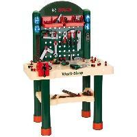 Bricolage - Etabli - Outil BOSCH - Etabli Work-Shop Enfant - 82 Accessoires
