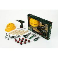 Bricolage - Etabli - Outil BOSCH - Grand ensemble de 36 outils