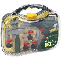 Bricolage - Etabli - Outil BOSCH - Mallette a outils avec visseuse et accessoires pour Enfant