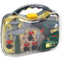 Bricolage - Etabli - Outil BOSCH - Mallette a outils avec visseuse et accessoires pour Enfant - Klein