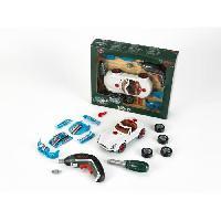 Bricolage - Etabli - Outil BOSCH - Set Tuning Bosch avec Visseuse Ixolino II pour Enfant