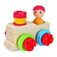 Bricolage - Etabli - Outil EICHHORN - Constructor Maxi Bois - Locomotive 12 Pcs