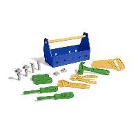 Bricolage - Etabli - Outil Green Toys - La caisse a outils Bleu