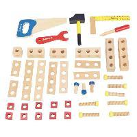 Bricolage - Etabli - Outil JEUJURA Boite a outils en bois