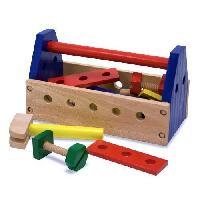 Bricolage - Etabli - Outil MELISSA et DOUG Trousse a Outils Portable - 24 Pieces - En bois - Melissa And Doug