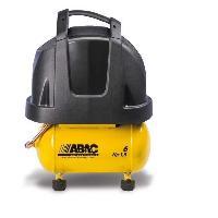 Bricolage - Outillage - Quincaillerie ABAC Compresseur a piston Vento B15 Baseline - 6 L - 1.5 CV - 8 Bars - 10.8 m³/h - 230 V Mono