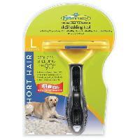 Brosse - Gant De Brossage - Carde FURminator Outil anti-mue taille L Poils courts pour chien