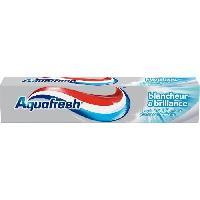 Brosse A Dents - Gratte-langue AQUAFRESH Dentifrice - Blancheur et brillance - 75 mL