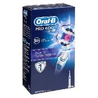 Brosse A Dents - Gratte-langue Oral-B PRO600 3D Brosse a dents electrique par BRAUN - Blanc - Oral B