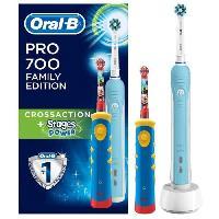 Brosse A Dents Electrique ORAL B Packs Brosse a dents PRO700 + Kids - Aucune