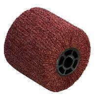 Brosse Abrasive A Main - Brosse Metallique Brosse fibre synthetique pour renovateur - D 120 mm