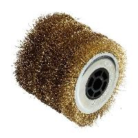 Brosse Abrasive A Main - Brosse Metallique Brosse fil metal pour renovateur - D 120 mm