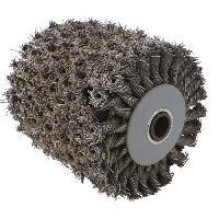 Brosse Abrasive A Main - Brosse Metallique FARTOOLS Brosse métallique torsadée pour rénovateur - Moyeu plastique