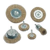 Brosse Abrasive A Main - Brosse Metallique Jeu de 6 brosses metalliques