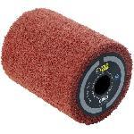 Brosse en fibre synthétique Ø80mm - L 100mm pour poncer/polir/satiner