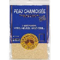 Brosses & Chiffons 5x Peau de chamois naturelle 450 - 41.71 dm2 - 76x51cm
