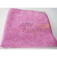 Brosses & Chiffons Lingette Microfibre Megastar - 40x40cm - Ultimate Cleaner - Rose - ADNAuto