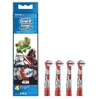 Brossette Oral-B Stages Power 4 brossettes de rechange pour brosse a dents électrique Star Wars - Oral B