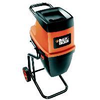 Broyeur - Accessoire BLACK&DECKER Broyeur de végétaux électrique 2400 W  GS2400 - Black & Decker