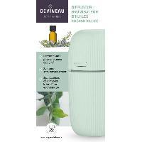 Bruleur - Diffuseur De Parfum DEVINEAU Diffuseur brumisateur d'huiles essentielles - Vert