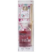 Bruleur - Diffuseur De Parfum Diffuseur a froid Confidences de filles - 100 ml - Parfum - myrtille - Couleur - rose
