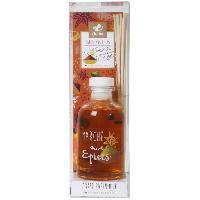 Bruleur - Diffuseur De Parfum Diffuseur a froid Marche aux epices - 100 ml - Parfum - patchouli - Couleur - orange