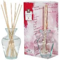 Bruleur - Diffuseur De Parfum Diffuseur de parfum 90ml 8 tiges bambou parfum rose eclatante