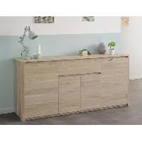 Buffet - Bahut - Enfilade BETTY Buffet 185 cm decor chene dakota