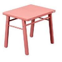 Bureau Bebe - Enfant Table enfant laque rose
