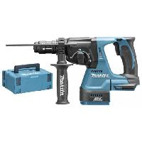 Burineur - Perforateur MAKITA Perfo-burineur -DHR243ZJ - SDS-Plus 18 V Li-ion - 24 mm - Bleu - Bosch
