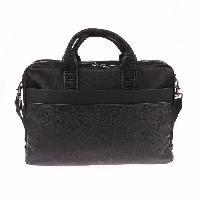 Business CALVIN KLEIN Sac d'epaule portable K50K500687 - TOM LOGO LAPTOP Noir Homme