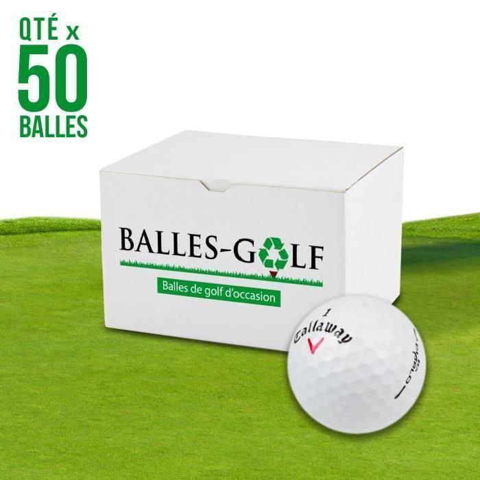 CALLAWAY-Lot-de-50-Balles-de-Golf-Callaway-HX-Diablo-Reconditionnees