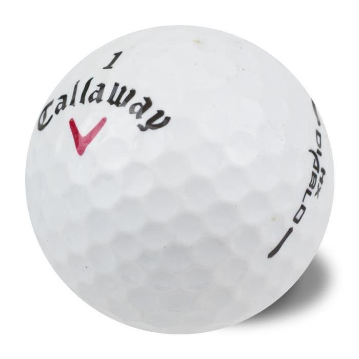 CALLAWAY-Lot-de-50-Balles-de-Golf-Callaway-HX-Diablo-Reconditionnees miniature 2