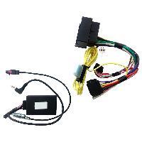 CTSBM005PAE - Interface commande au volant compatible avec BMW Mini + FM