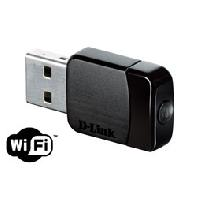 Cable - Adaptateur Reseau - Telephonie D-LINK Adaptateur nano USB Wireless AC Dual-Band - DWA-171 - Dlink