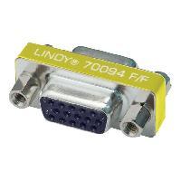 Cable - Connectique Pour Peripherique LINDY Changeur de genre HD 15 F / F