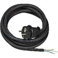 Cable - Fil - Gaine Cordon alimentation 3m H07RN-F 3G1.5 fiche 16A230V