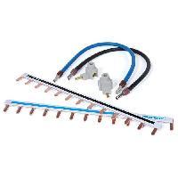 Cable - Fil - Gaine DEBFLEX Kit de cablage 1 rangee pour tableau electrique