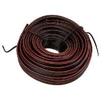 Cable - Fil - Gaine ELOTO Cable electrique 2 X 0.5mm2 - 10m - Generique