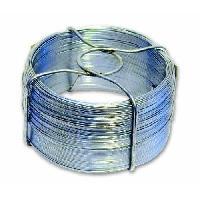 Cable - Fil - Gaine Fil en acier galvanise - L 40 m x O 1.3 mm - Generique