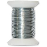 Cable - Fil - Gaine Fil metallique acier galvanise - L 20 m x O 0.5 mm - Aucune