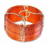 Cable - Fil - Gaine Fil metallique cuivre - L 50 m x D 0.8 mm
