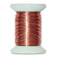 Cable - Fil - Gaine Fil metallique laiton - L 30 m x O 0.4 mm - Generique