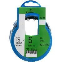 Cable - Fil - Gaine PROFIPLAST Couronne de cable 5 m HO7V-U 1.5 mm2 Bleu