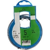 Cable - Fil - Gaine PROFIPLAST Couronne de cable 5 m HO7V-U 2.5 mm2 Bleu