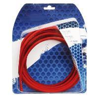 Cable Alimentation Cable Alimentation Rouge 10mm2 - 5m Generique
